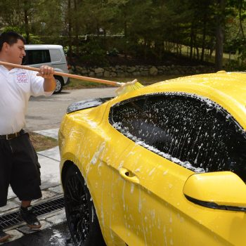 Mobile car wash in eastern MA by Time Saving Auto Detail of Newton MA