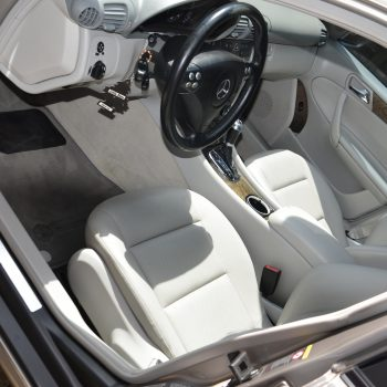 Mercedes driver area after interior car detailing by Time Saving Auto Detail