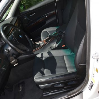 BMW interior after car detailing by Time Saving Detail