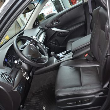 car interior before detailing - front seat - by Time Saving Auto Detail
