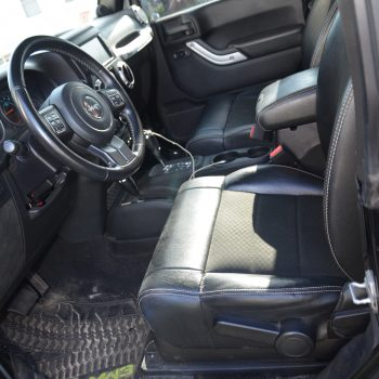 interior before car detailing