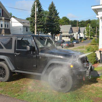 mobile car washing service