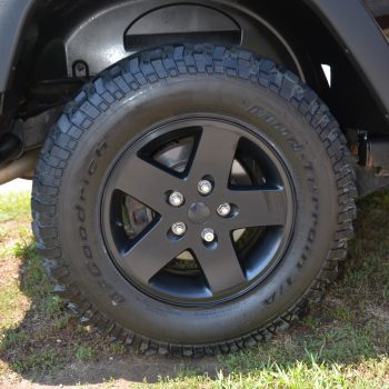 detailed tire and fender