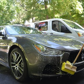 soft brush car washing - mobile auto detailing in Newton MA by Time Saving Auto Detail